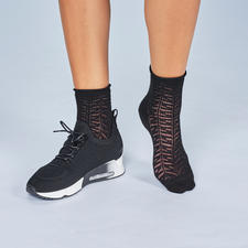 Ash Knit-Sneakers, Schwarz - High-Class-Design vom Trend-Label. Top stylish: Puristisch cleanes Design.
