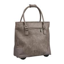 Fritzi aus Preußen Trolley-Shopper - Die XL-Shopper-Bag mit verborgener Trolley-Funktion. Immer elegant. Ausreichend groß. Nie zu schwer.