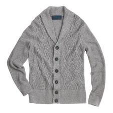 Carbery Aran-Sommercardigan - Der luftige Leinen-Baumwoll-Cardigan – made in Ireland von Carbery. Aran-Strickkunst auf sommerleichte Art.