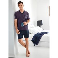 Lieblings-Pyjama No. 28 - Reine Baumwolle, sauber verarbeitet, made in Germany.