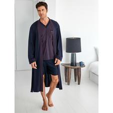 Pyjama und Bademantel