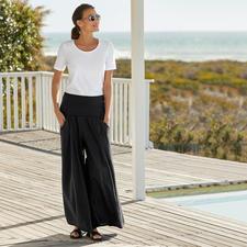 Elisa F. Ibiza-Hosenrock - Die echte Ibiza-Hose: Gestern Klassiker im Hippie-Stil. Heute Star des Wide-Leg-Trends.
