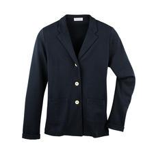 T-Shirt-Blazer - Korrekt wie ein Blazer. Leicht und luftig wie ein T-Shirt. Aus feinem, italienischem Baumwoll-Jersey.