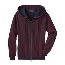 Seldom Damen-Doubleface-Strickjacke - Das Verwöhnprogramm dieser Jacke: außen feine Merino-Wolle, innen weiche GIZA-Baumwolle.