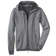 Seldom Herren-Doubleface-Strickjacke - Das Verwöhnprogramm dieser Jacke: außen feine Merino-Wolle, innen weiche GIZA-Baumwolle.