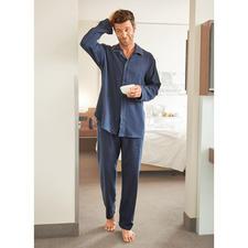 NOVILA Flanell-Pyjama, Herren - Der Pyjama für den ersten guten Eindruck am Morgen.