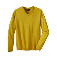 Junghans 1954 Leinen-Basic-Pullover - Ihr sommerleichter Basic-Pullover – eine Rarität aus reinem Leinen.