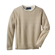 Carbery Leinen-Klima-Pullover - Strickkunst made in Ireland. Von Carbery.
