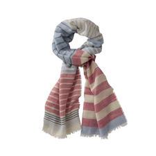 Lochcarron Streifen-Schal - Der Streifen-Schal aus Wolle, Seide und Leinen.