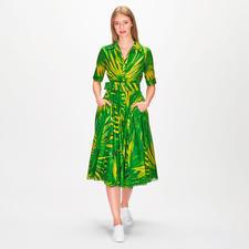 Samantha Sung Kleid Mexican Palm - Blüten-Trend eleganter Art: das schwingende Retro-Kleid von Samantha Sung.