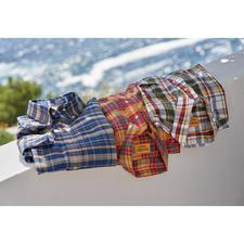 OMTC Madras-Karohemd - Das original Madras-Hemd – in Indien traditionell von Hand gewebt.