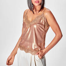 Liu Jo Metallic-Lingerie-Top - Mode-Must-have Lingerie-Top: bei Liu Jo längst bewährter Basic-Klassiker.