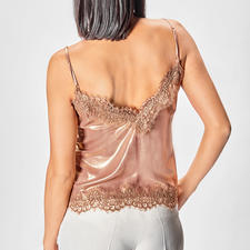 Liu Jo Metallic-Lingerie-Top