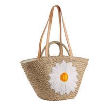 Bali-BAli® Raffia-Tasche Margerite - Fashion-Star Strohtasche: soft und schmiegsam statt steif und sperrig.