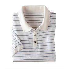 Tencel®-Leinen-Poloshirt - Kühler und lässiger als Tencel® pur: Tencel® mit Leinen und Baumwolle. Weniger Glanz. Mehr Griffigkeit.