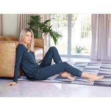 Bambus-Viskose-Zweiteiler - Femininer Homewear-Zweiteiler und gemütlicher Pyjama in einem.