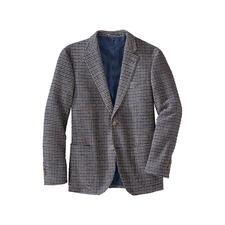 Hahnentritt-Bouclé-Sakko - Viel leichter (und zugleich wärmer) als üblich. Und so weich wie Ihr Lieblings-Pullover.