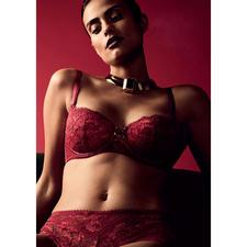 Aubade Push-up-BH oder Panty Rouge Amour - Die luxuriösen Dessous für den Alltag: Aube Amoureuse von Aubade.