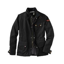 Peregrine Cotton-Wax-Jacke - Fashion-Update für die Wachsjacke: Verkürzte Form. Verstärkte Schultern. Viele Taschen …