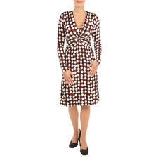 KD Jersey-Kleid Chocdot