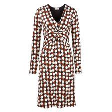 KD Jersey-Kleid Chocdot - Schmeichelhafter Schnitt. Kofferfreundliches Material. Guter Preis.