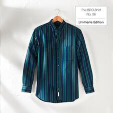 The BDO-shirt, Limited Edition No. 58, Regular Fit - Entdecken Sie einen guten alten Freund. Und vergessen Sie, dass ein Hemd gebügelt werden muss.