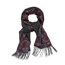 Ascot Doubleface-Winter-Schal - So warm kann ein eleganter Seidenschal sein. So elegant kann ein warmer Wollschal sein.