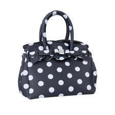 Ultraleicht-Mini-Tasche, Punkte - Klassischer Look, innovatives Material: Diese ultraleichte Handtasche wiegt nur 215 Gramm. Made in Italy vom Kultlabel Save My Bag.