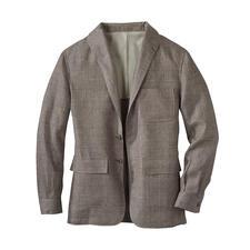 Teba Linen Jacket - Das sommerleichte Teba Jacket aus irischem Leinen: Stilvoll wie ein Sakko. Lässig wie eine Jacke. Von Curzon Classics.