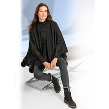 Operncape Jimmy Hourihan - Elegant verbrämt. Perfekt zur Gala-Garderobe – topmodisch zu lässigen Jeans.