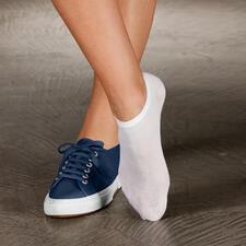 Sommer-Socken, 2-Paar-Set - Diese Socken brauchen Sie, wenn Sie im Sommer am liebsten Schuhe barfuß tragen.