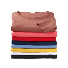 Erde, Pink, Rot, Marine, Jeans, Gelb, Weiß und Schwarz