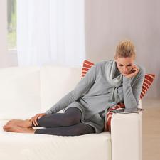Sweatshirt-Kleid - Bequem wie ein Homesuit. Aber viel charmanter. Das Sweatshirt-Kleid aus extraweichem Jersey.