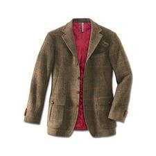 "Hunting-Jacket ""Irish Tweed"" - Warm gefüttert: das Hunting Jacket aus seltenem irischen Tweed."