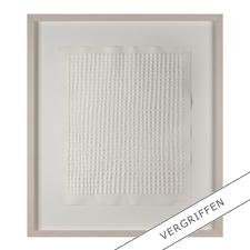 """Günther Uecker: """"Reihung"""", 1972 - Prägedruck auf 300-g-Büttenpapier  Auflage: 100 Exemplare   Exemplar: e. a.  Blattgröße (B x H): 50 x 60 cm   Größe mit Rahmung: 74 x 84 cm"""