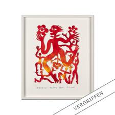 Ren Rong – Pflanzenmensch 2011 - Das berühmteste Motiv eines der renommiertesten chinesischen Künstler: Ren Rongs Pflanzenmensch als unikale 3-D-Konstruktion. 15 Exemplare.
