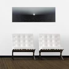 Das Werk auf DIBOND® ist auch ohne Schattenfugenrahmung erhältlich.
