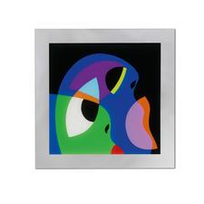 R. O. Schabbach – Fields of Knowledge - Besitzer eines Schabbachs in allerbester Gesellschaft. Erste Edition auf Acrylglas – handübermalt. Maße: 100 x 100 cm