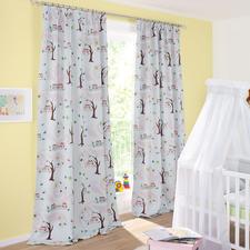 Vorhang Little Owls - 1 Stück - Trend-Tier Eule: Jetzt als Verdunkelungsvorhang fürs Kinderzimmer. Genau richtig für junge Fashion-Fans.