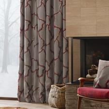 """Vorhang Bordino - 1 Stück - Landhausstil, luxuriös wie nie. Präsentiert in der neuen Kollektion """"Chalet Luxe"""" von Sahco."""