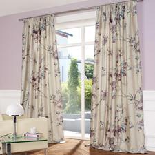 """Vorhang """"Oriental Flower"""" - Floraldessin ohne jeden Kitschverdacht. In den Trendfarben der Saison."""