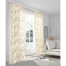 """Vorhang """"Kesa"""", 1 Vorhang - Romantisches Rosen-Dekor. Der Evergreen des Cottage-Stils, original aus Großbritannien."""