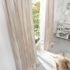 Vorhang Orinoco - 1 Stück - Selten wirkt Abnutzung so edel – und ist so aufwändig gemacht.