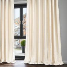 Vorhang Alison - 1 Stück, Creme/Weiß - Puristisch, monochrom und doch so raffiniert in der Wirkung.