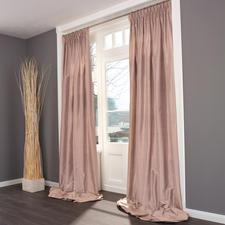 """Vorhang """"Madras"""", 1 Vorhang - Kostbare Dupionseide – außergewöhnlich farbintensiv und brillant."""