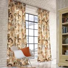 """Vorhang """"Cybele"""", 1 Vorhang - So modern können die """"alten Meister"""" wirken.  Statt auf Leinwand, auf pflegeleichter Leinenmischung."""