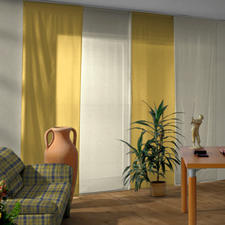 Flächenvorhang Comtesse - 1 Stück - Ausdrucksstarker Moiré-Look.