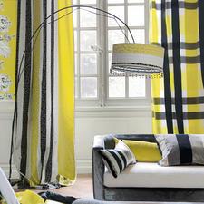 """Vorhang """"Beduzzi"""" oder Vorhang """"Svoboda"""", je 1 Vorhang - Karos und Ketten – farbbrillant und weich fließend."""