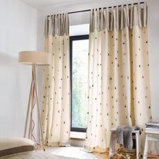 """Vorhang """"Button"""", 1 Vorhang - Selten ist ausgefallenes Design so natürlich."""