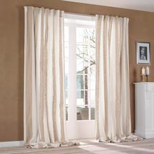 Vorhang Brera Largo - 1 Stück - Luxus-Leinen von Designers Guild ist überraschend soft im Griff.